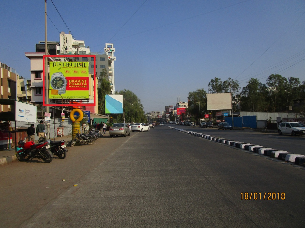 near Dmart hoarding
